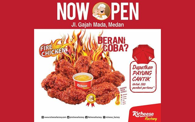 menu richeese factory medan