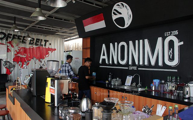 Anonimo Coffee sajikan kopi Indonesia