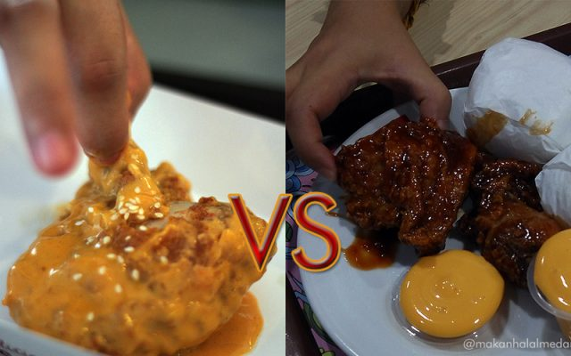 richeese factory vs kf hot and cheesy chicken
