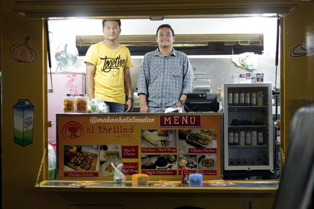 Food Truck di Medan El Thrilled