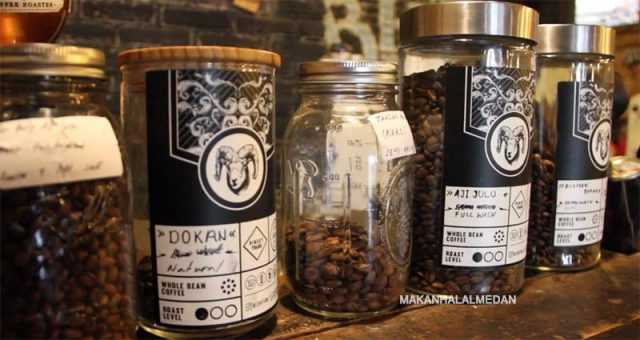 single origin kopi biji hitam berastagi
