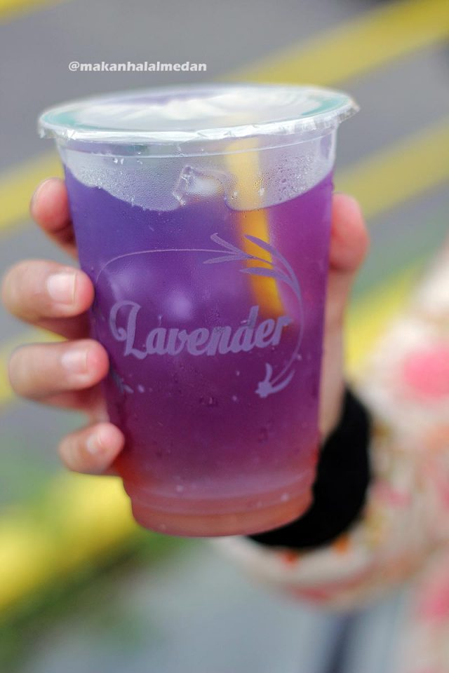 Lavender drinks